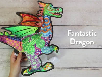 3D Colorables - DIY Inflatable Coloring Toys from OOLY