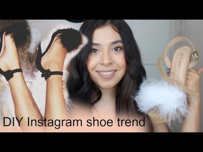 D.I.Y Instagram Shoes | Wendy Teresita
