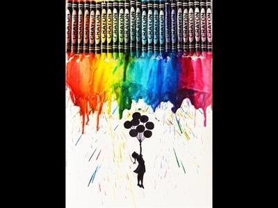DIY: Crayon Melting Art   How To