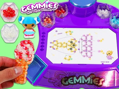 GEMMIES Design Studio Fun & Easy Make Your Own 3D Bead Figures!