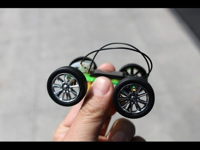 How to Make a Diy Mini Solar Car
