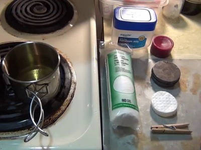 How to make simple DIY waterproof fire starters