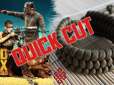 Mad Max Trilobite Paracord Bracelet Tutorial Quick Cut