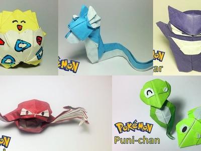 More Origami Pokemon Tutorials - Paper PH2 channel