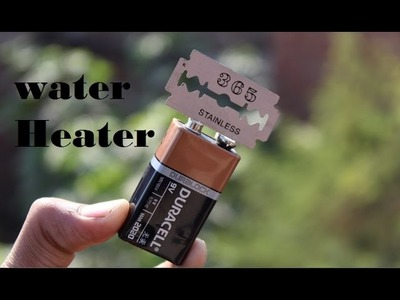 Worlds Smallest Water Heater  |How to make| DIY