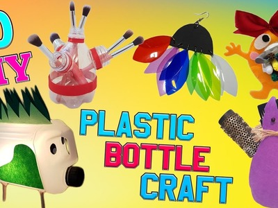 10 DIY Plastic Bottle Craft  HOW TO! DIY Creative ways reuse. recycle PET bottles part 3