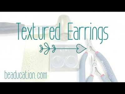 Adding Texture to Metal - Jewelry Making