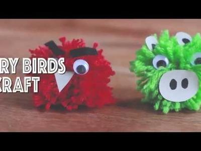 Angry Birds Pom Pom Craft