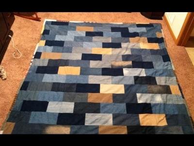 Brick Wall Blues Pt.2: A Denim Quilt