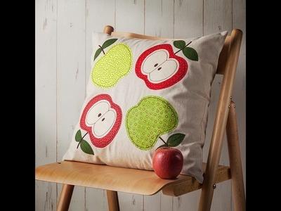 Canvas Project : Apple Appliqué Pillow