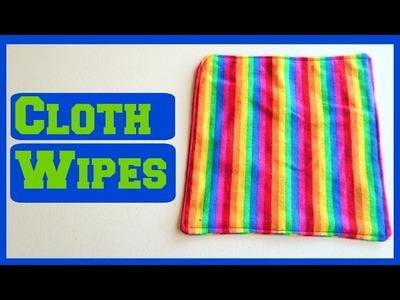 Cloth Wipes DIY   Step by Step Sewing Tutorial   Ali Coultas
