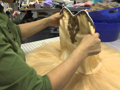 Constructing a Classical Ballet Tutu (Part 7: Finishing the Tutu and Final Fitting)