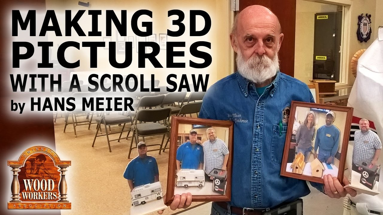 Creating 3D Pictures With a Scroll Saw