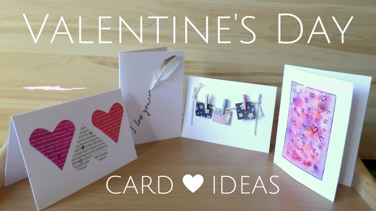 DIY  Easy Valentine's Day Cards | Creative Valentine Card Ideas for Boyfriend or Girlfriend