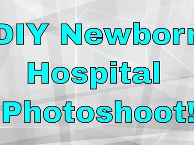 DIY Newborn Hospital Photoshoot + Photo Apps!