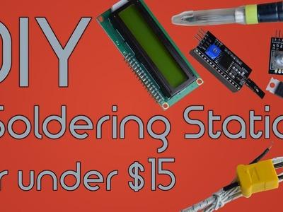 DIY Soldering Station for under $15 using Arduino