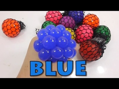 [Do It Yourself]  Learn Color - DIY ball , surprise with balls made from slime   !!!!GREAT!!!!