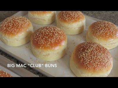 "Homemade Hamburger Buns - Classic & Big Mac ""Club"""