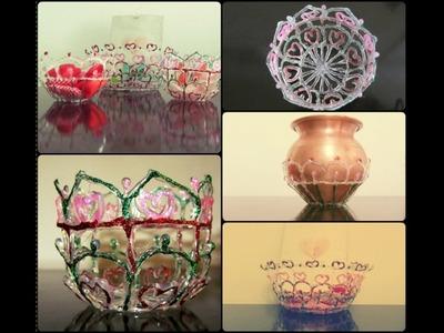 Hot glue bowls! Amazing hot glue craft!
