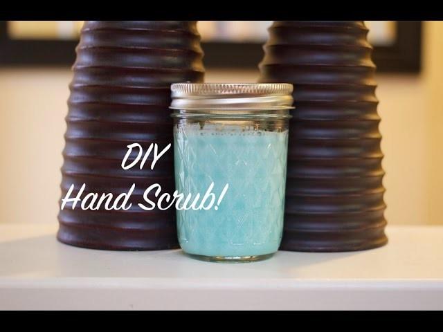 How To DIY Sugar Hand Scrub