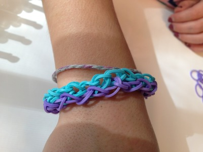 How To Make A Rainbow Loom Side by Side Bracelet