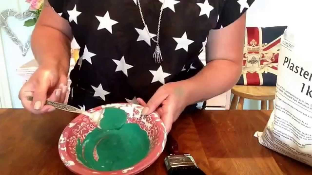 How to make chalk paint- painting on glass, metal and wood. BamTilly UK