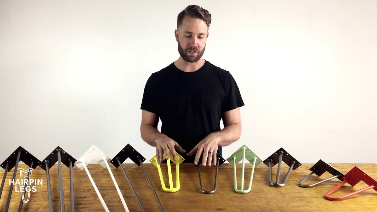 How to Pick the Right Hairpin Legs for your DIY Project
