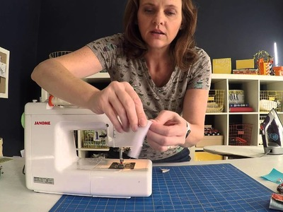 Inspired Project #3: How to sew cord keepers to organize your charger cords