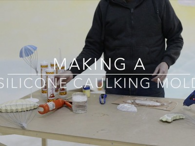 Make a Casting Mold from Silicone Caulk (PART 1)