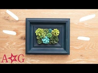 Plant Frame DIY Wall Decor! | OMaG | American Girl