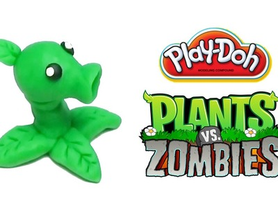 Play-Doh Plants vs Zombies Garden Warfare Peashooter from Plants vs Zombies 2 Game PopCap Games