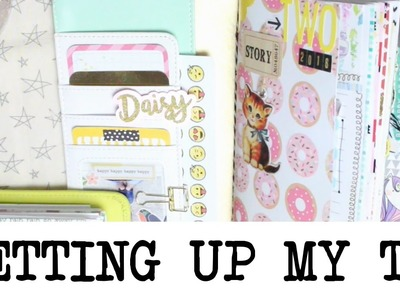 Setting Up My Creative Journal! | Craft With Me | MyGreenCow