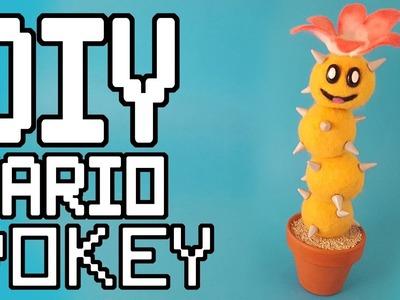 Super Mario: Pokey Needlefelt DIY Tutorial