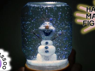 올라프 스노우볼 만들기 [양쑤] Olaf Snowball. Snow Globe. Water ball Tutorial