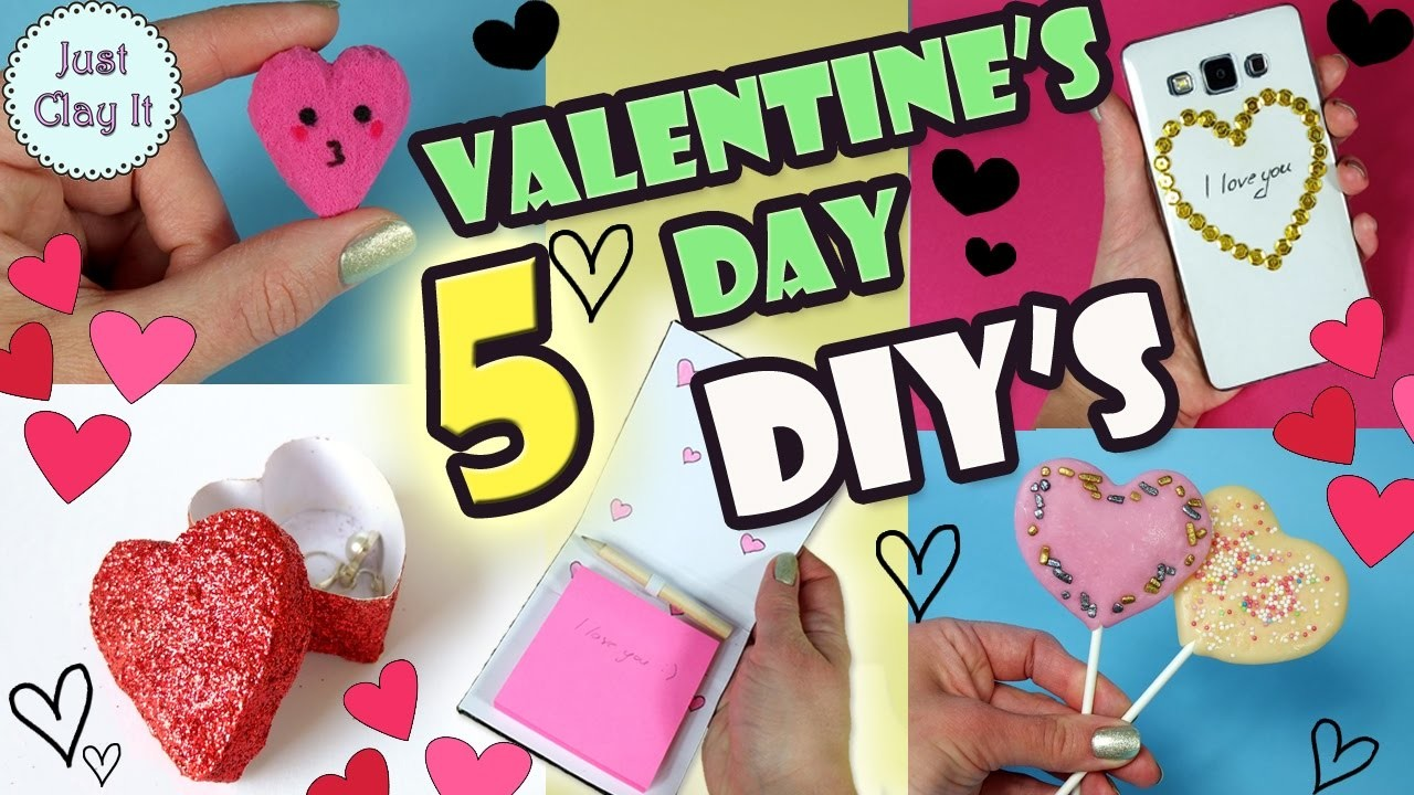 5 DIY Valentine's Day Gift Ideas and Treats!
