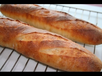Baguette recipe.How to make baguette - Food At Home