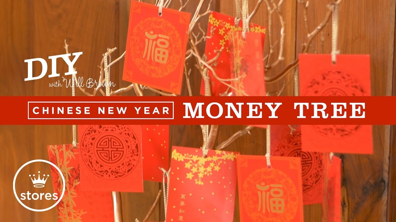 Chinese New Year Money Tree | DIY with Will Brown
