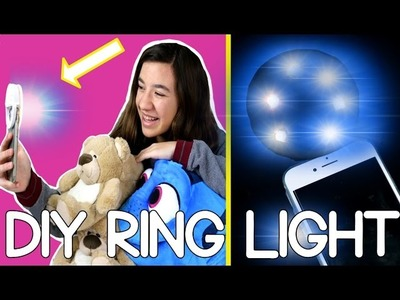DIY a PHONE SELFIE ring light