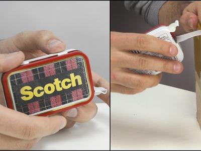 DIY Altoids Scotch Tape Dispenser