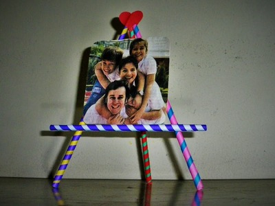 DIY Easy | Photo frame. Mini Photo stand.Valentine  Gift Idea. Made with ( Paper) | Art Strategy |