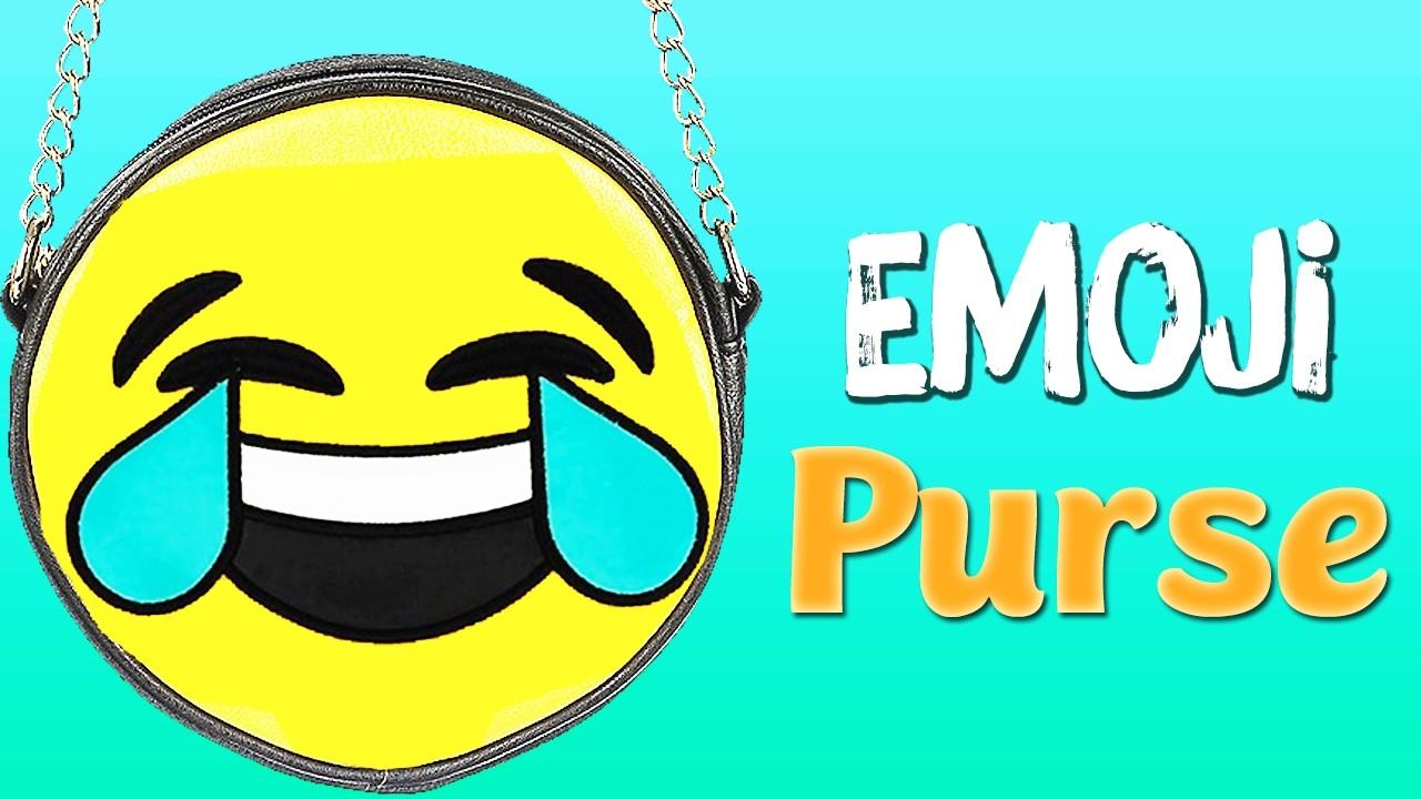 DIY EMOJI PURSE - How to make Emoji Side Bag [NO SEW]