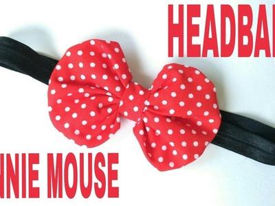 DIY Minnie Mouse Headband For Baby ala Elysia Handmade