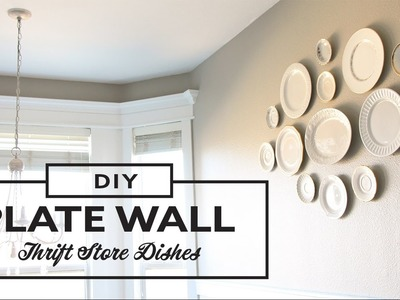 DIY - Plate Wall Decor Thrift store - Galeria de Platos