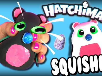 DIY Squishy Hatchimals Toys | Hatchimals Stress Balls | How To Make Your Own Hatchimals