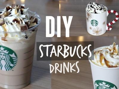 DIY STARBUCKS DRINKS - Toffe Nut Latte, White Hot Chocolate ⎮ Starbucks Getränke