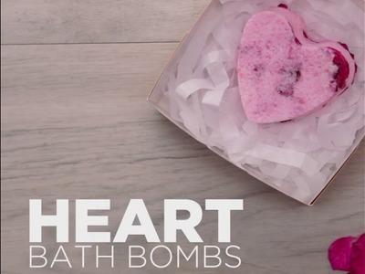 DIY Valentine's Day Bath Bomb!