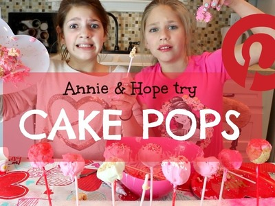 DIY Valentine's Day Cake Pop Pinterest Ideas | Annie and Hope JGS