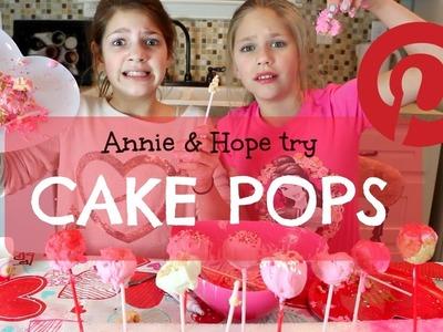 DIY Valentine's Day Cake Pop Pinterest Ideas   Annie and Hope JGS
