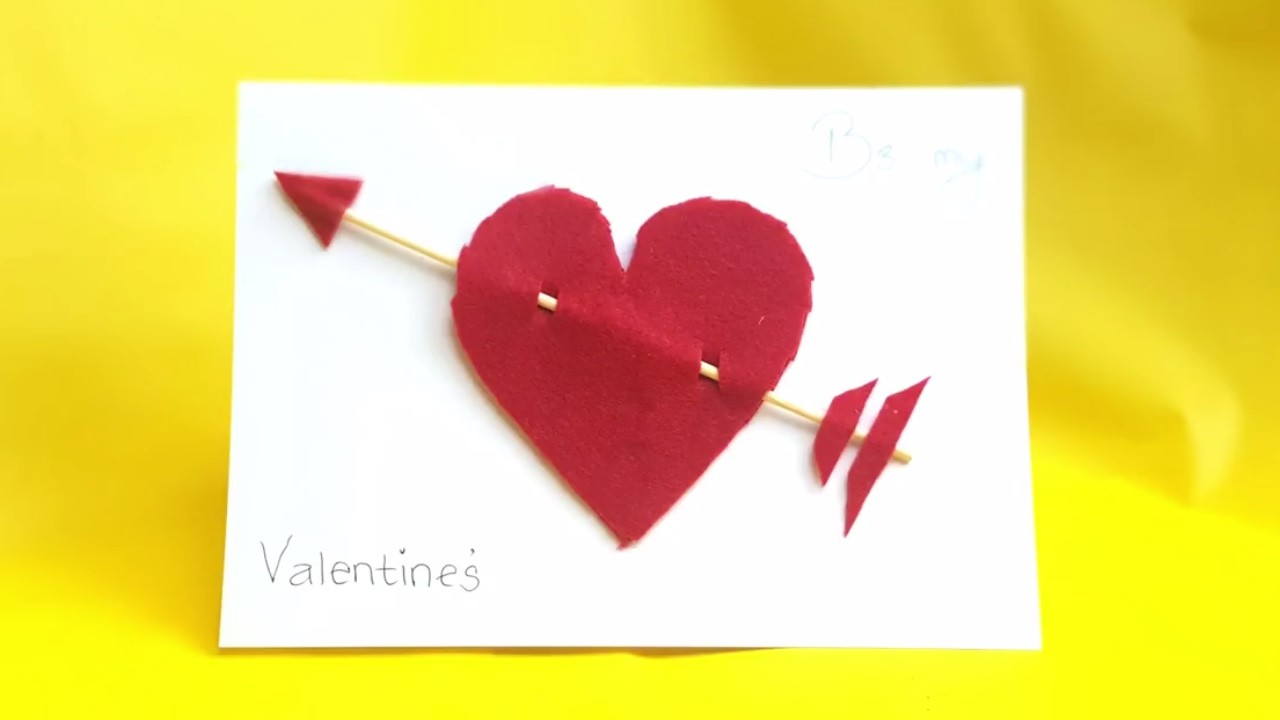 Diy Valentines Day Pop Up Card Diy Anniversary Cards Gift Idea Handmade Greeting Card Ideas 2017