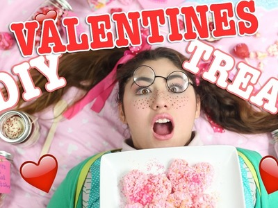 DIY Valentines day treats. super delicious, easy and quick